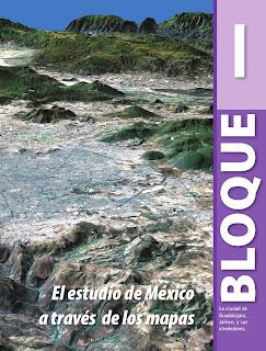 Apoyo Primaria Geografía 4to grado Bloque I El estudio de México a través de los mapas