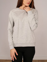Bluza Stradivarius Dama Gray Cloud ( )
