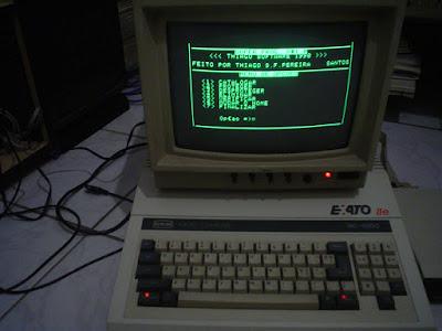 Thiago França Acervo Apple II Exato IIe CCE Tdos Thiago Software
