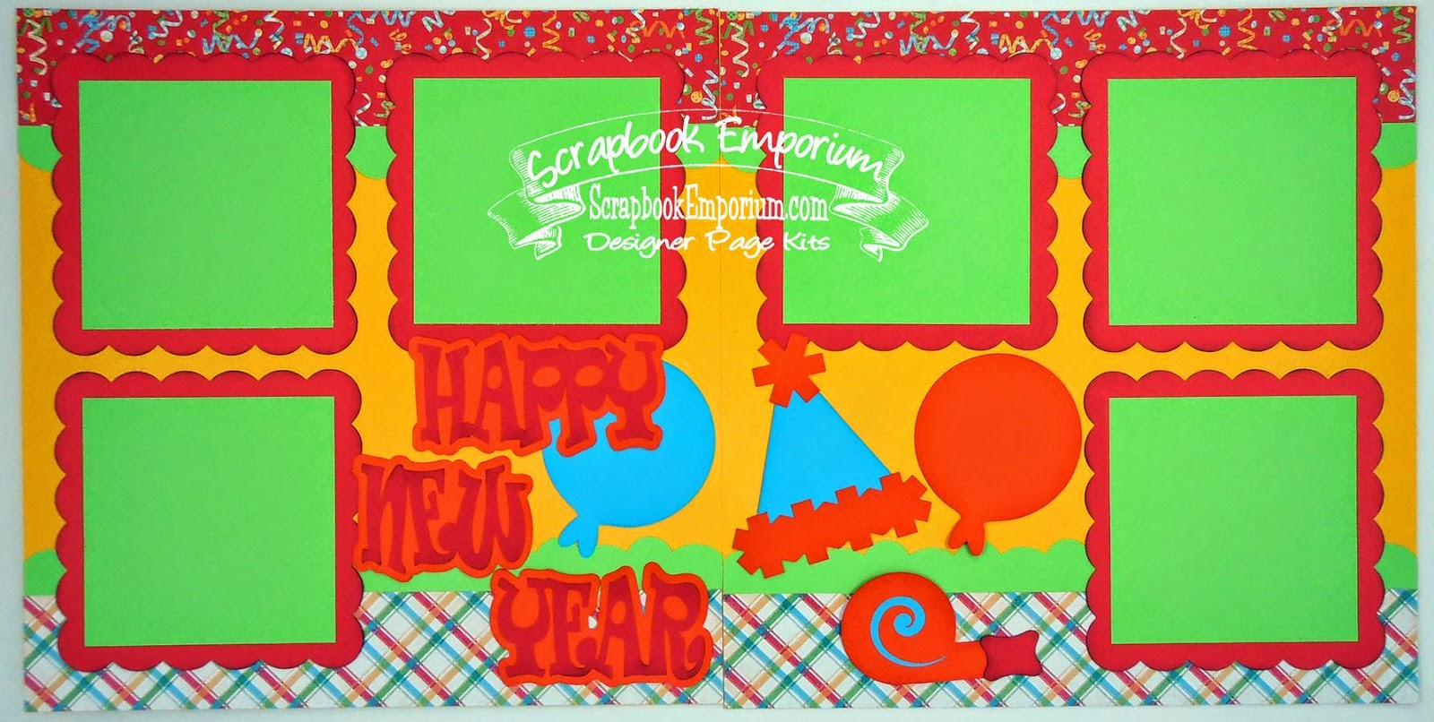 New Year Scrapbook Pages Happy New Year Scrapbook Pages