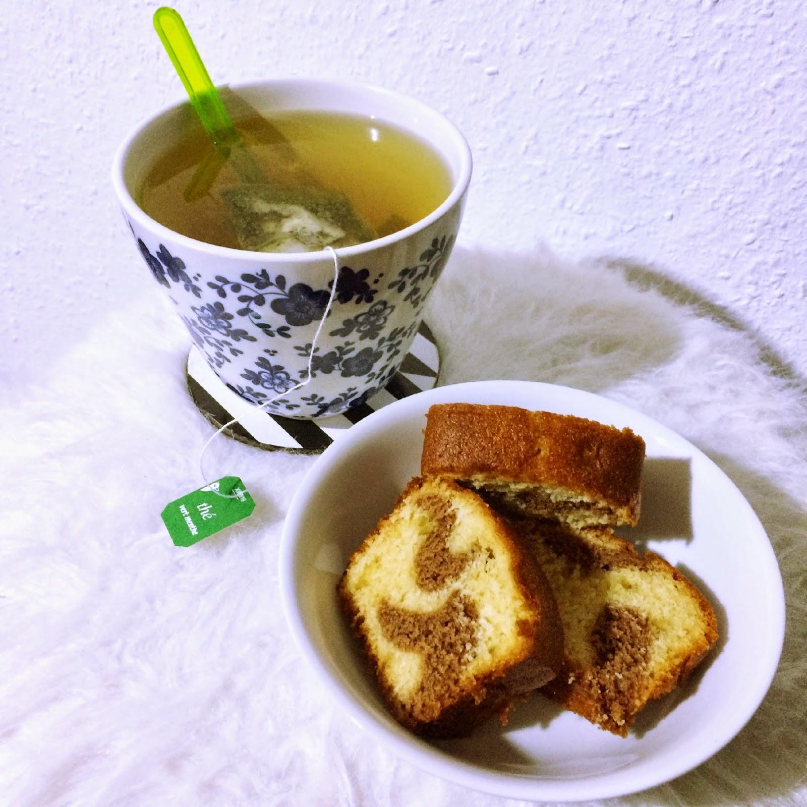 gouté thé et gateau