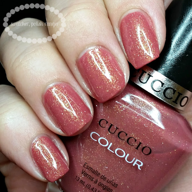 swatcher, polish-ranger | Cuccio Colour Blush Hour swatch