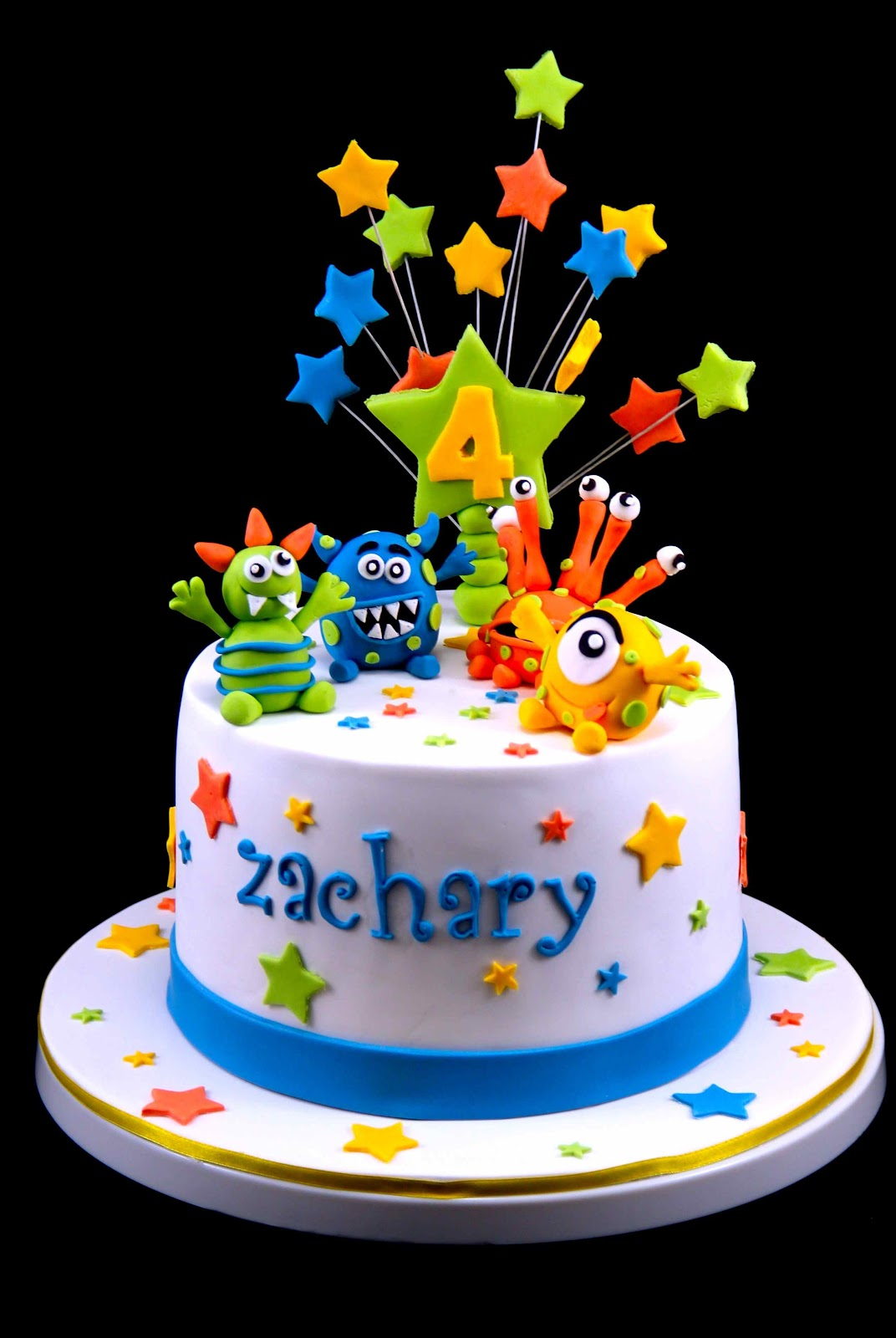 Birthday Cake Images For Little Boy : monster on Pinterest Monster Cakes, Monsters and Monster ...