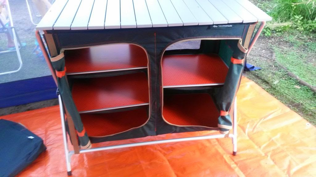 Salimos de Camping: Mueble de cocina Quechua