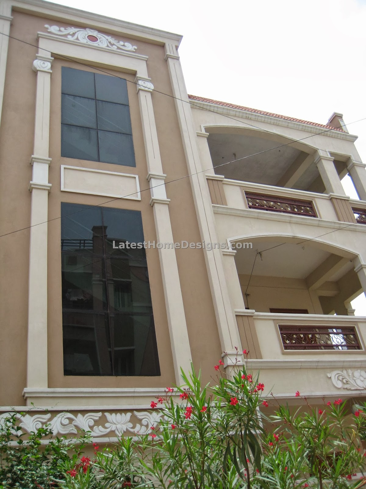 Front Elevation Designs For 4 Floors Building : House front elevation to steps photos in hyderabad joy