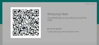 QR Code - Cara Menggunakan Whatsapp di Komputer (PC atau Laptop)