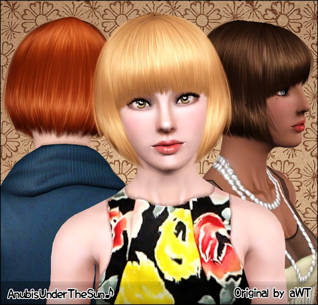 Short Hair For Females The Sims Forums