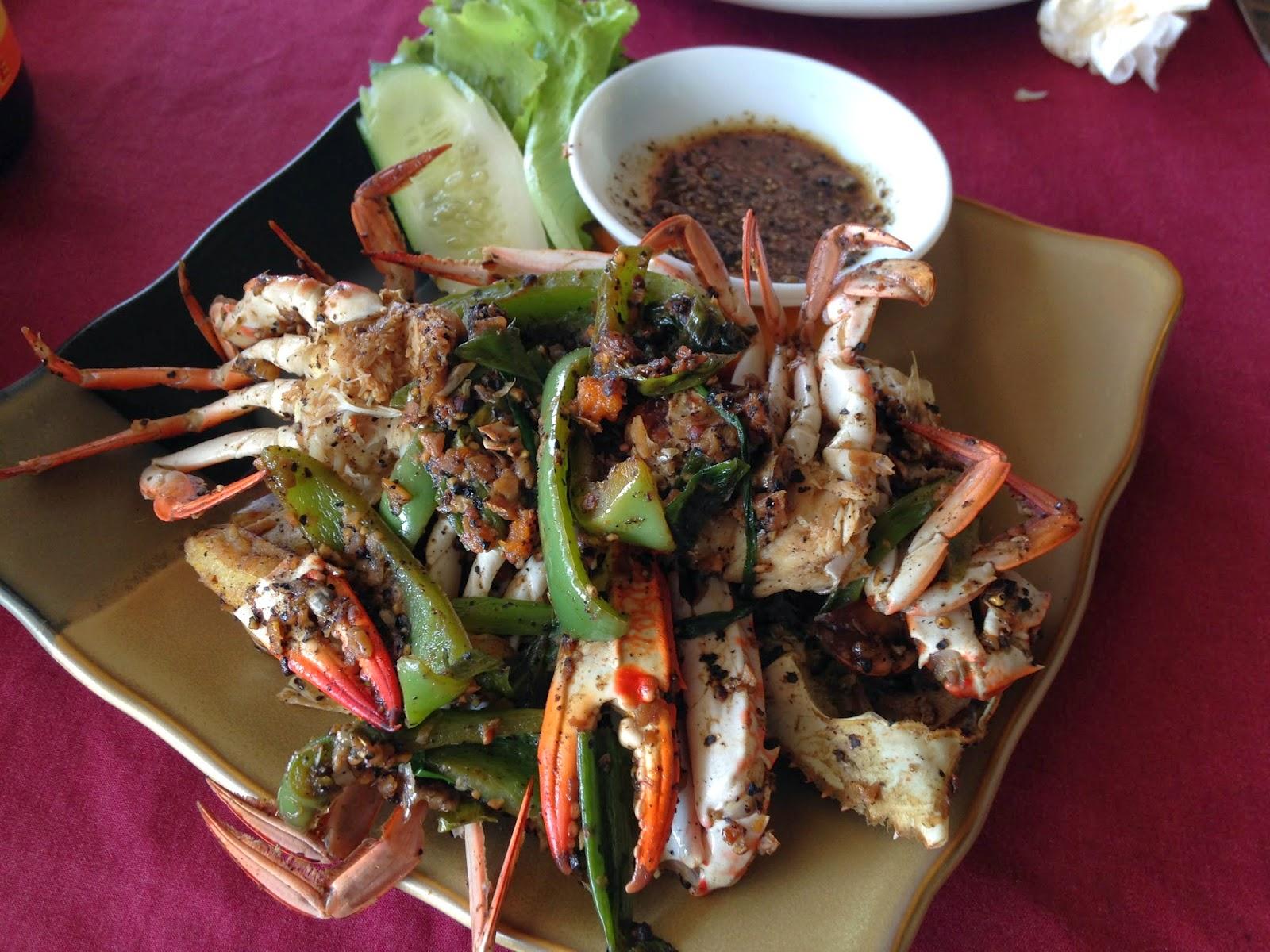 fresh crab kep cambodia