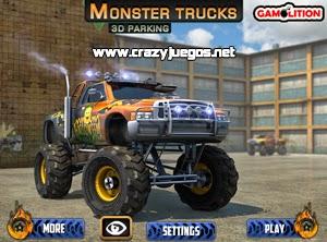 Juega Monster Trucks 3D Parking