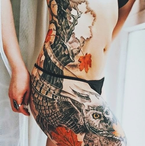 ♥ ♫ ♥ Cool  hip tattoo ♥ ♫ ♥
