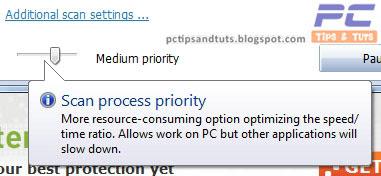 Medium Priority Scanning