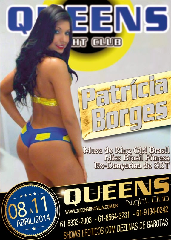 Patricia B Es   Boate Queens Night Club   Brasilia   Taguatinga
