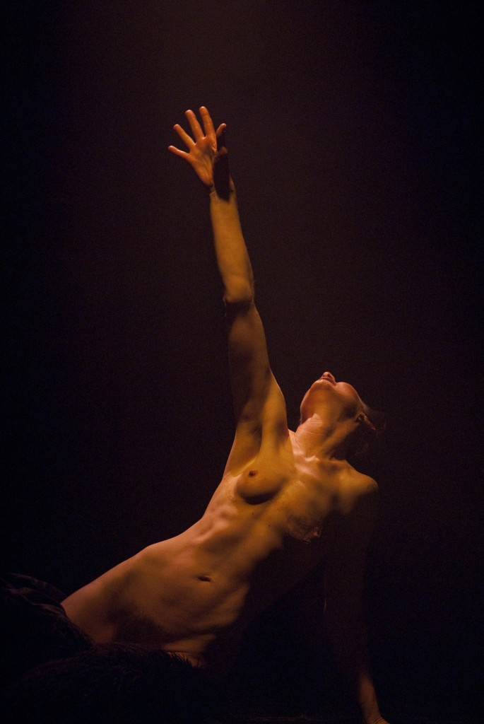 nude naked The dancing crucible