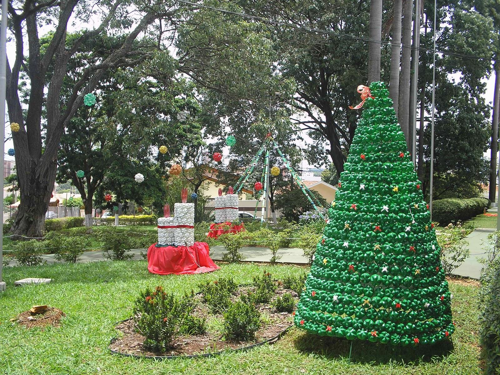 Escola Patarra Decoraç u00e3o de Natal -> Decoração De Natal Jardim