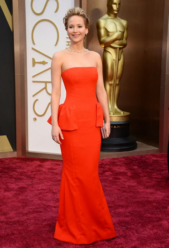 Oscars 2014 Red Carpet, Jennifer Lawrence