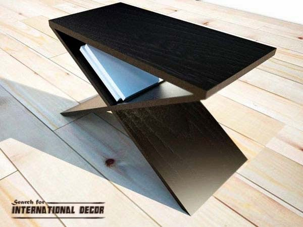 wood coffee table, modern small coffee table