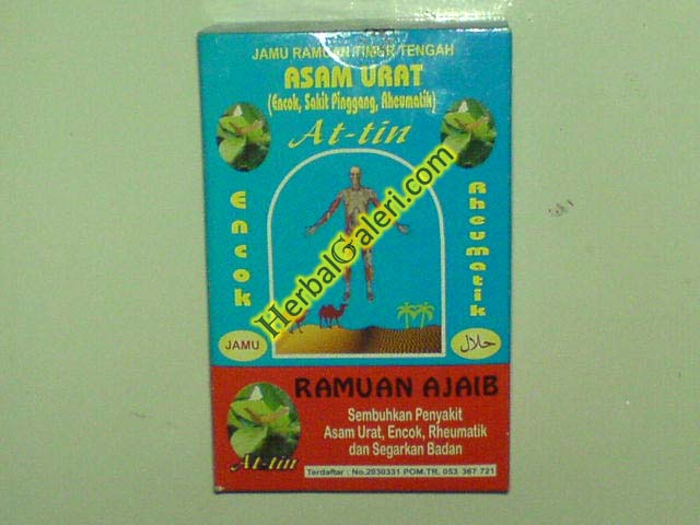 jual jamu ramuan asam urat at tin herbal muslim
