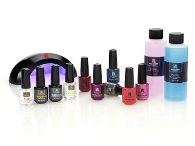 Red Carpet Manicure Pro Kit RCM Gel Nail UV LED