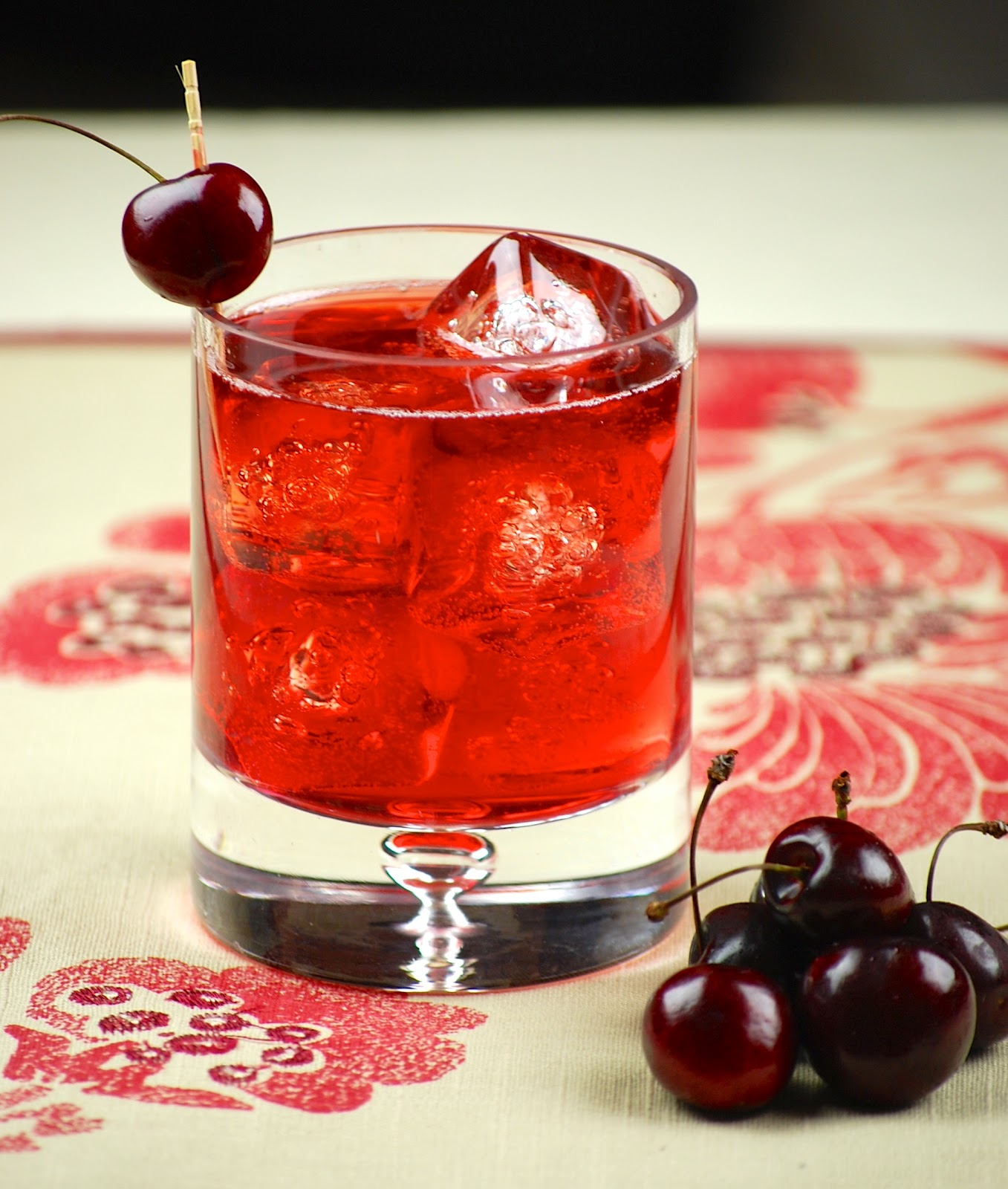 Homemade Cherry-VanillaLiqueur