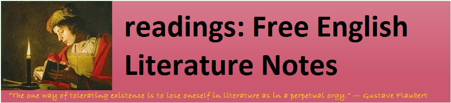 readings: Free English Literature Notes