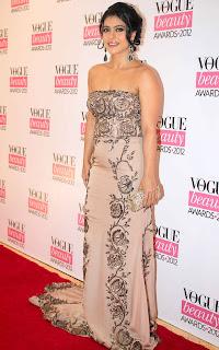 Kajol at The Vogue Beauty Awards 2012
