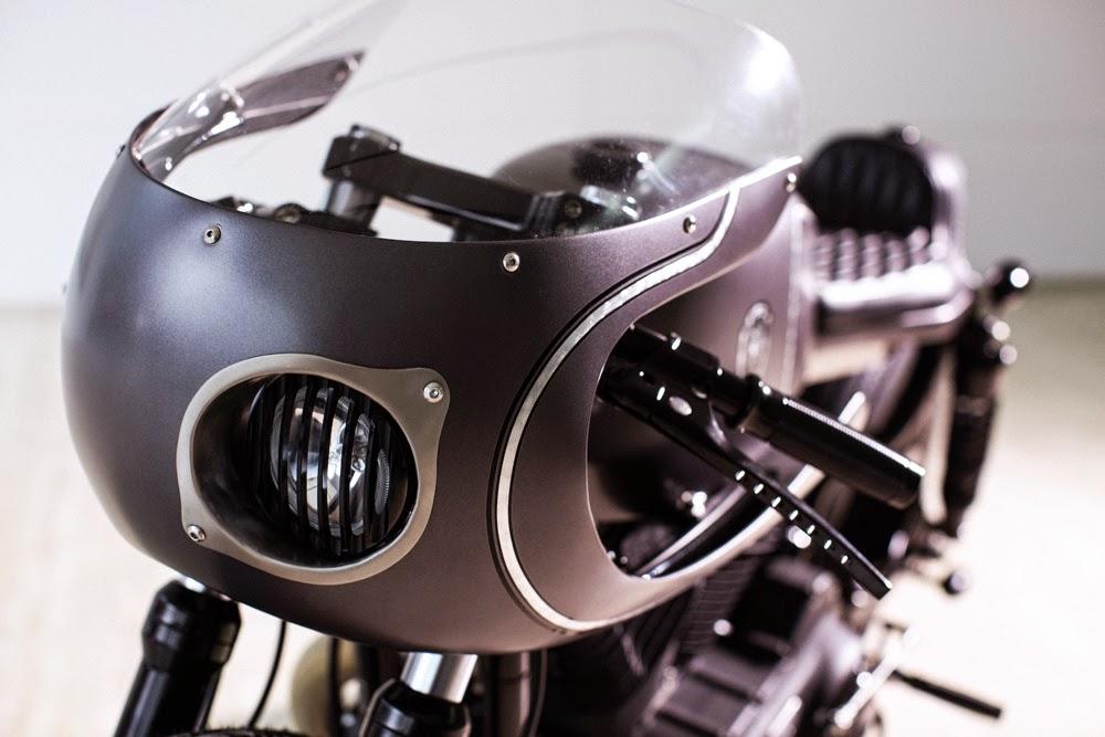 The Slate Hammer - Rough Crafts Harley Cafe Racer