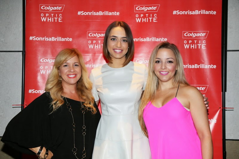 Nuestra Belleza Latina viewing party with Colgate Optic White, fashion blogger, miami fashion blogger, nany's klozet