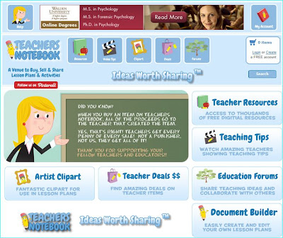 Free Teacher Created Activities