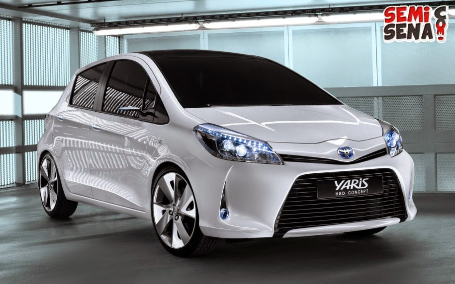 Price List Toyota Yaris 2015