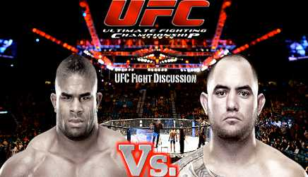 Alistair Overeem vs Travis Browne