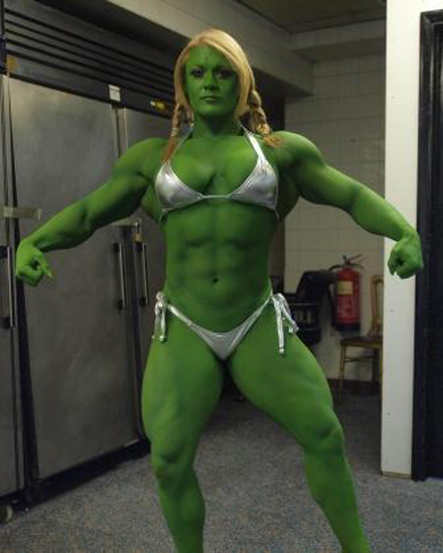 Lisa-Hulk por areaorion