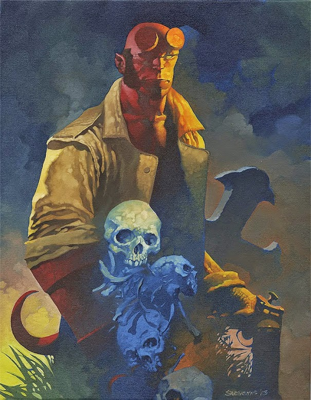Hellboy by Christopher Stevens