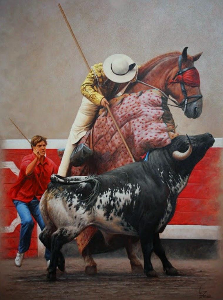 pinturas-realistas-de-toros-bravos