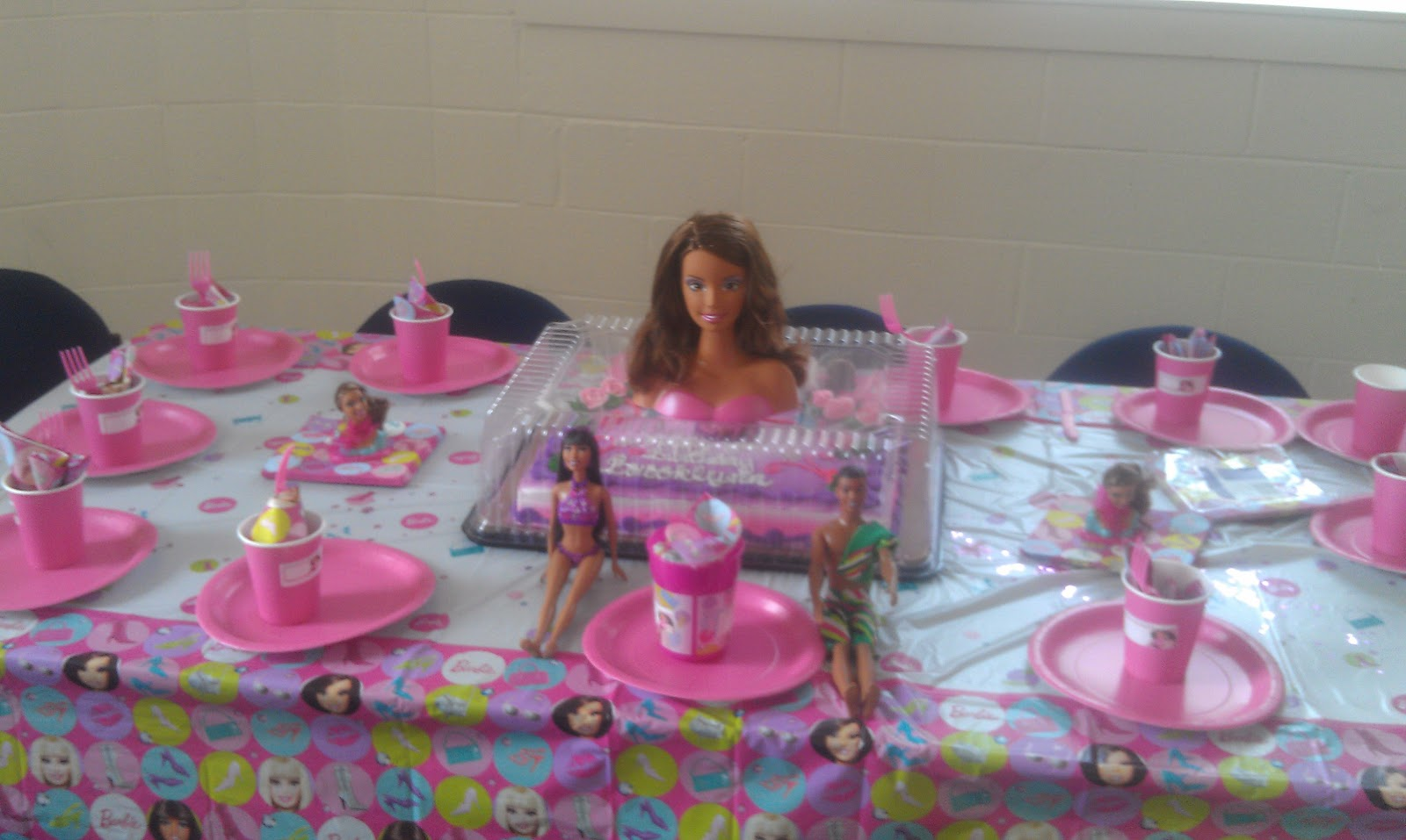African american barbie party supplies pictures to pin on for American party decoration
