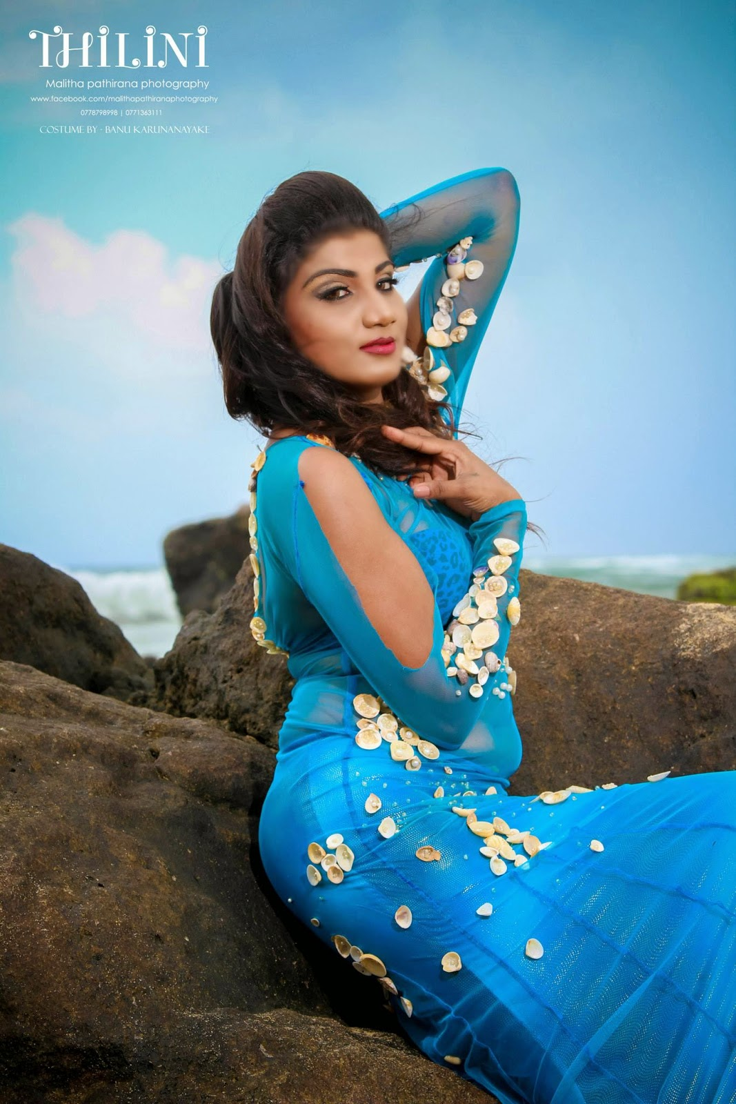 THILINI ( Beach Shoot )