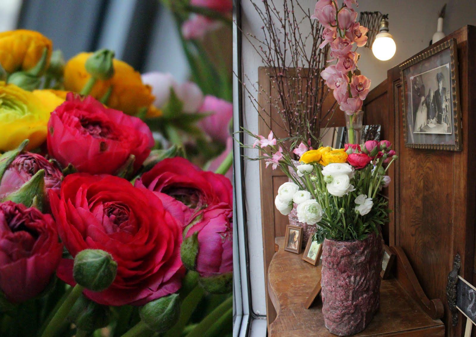 Decorar un cesto con flores secas v rias - Flores secas para decorar ...