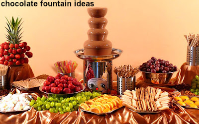chocolate fountain ideas