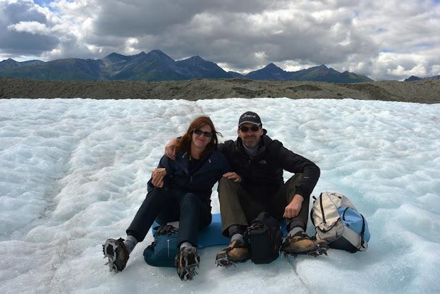 Kennicott Glacier relax