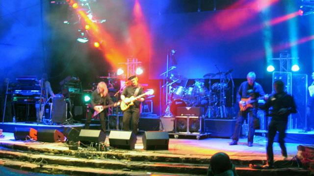 Eloy en concert à la Loreley, 8 juillet 2011