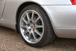 Porsche 996 GT3 Alloy wheels