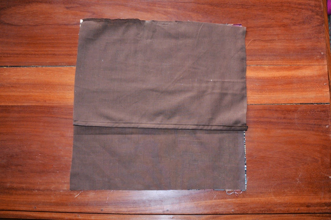 Mystery Playground March 2015 Catriona Agatha Top Handle Bag Brown Sew Each Of The Areas You Folded Over And Ironed Stitch Right Down Center Your Pinned Area