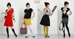 Retro dresses style