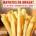 Amostras Grátis - Batatas Burger King