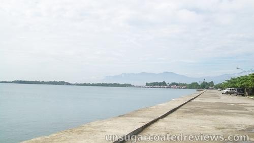 Davao Baywalk and Park in Davao City, Philippines