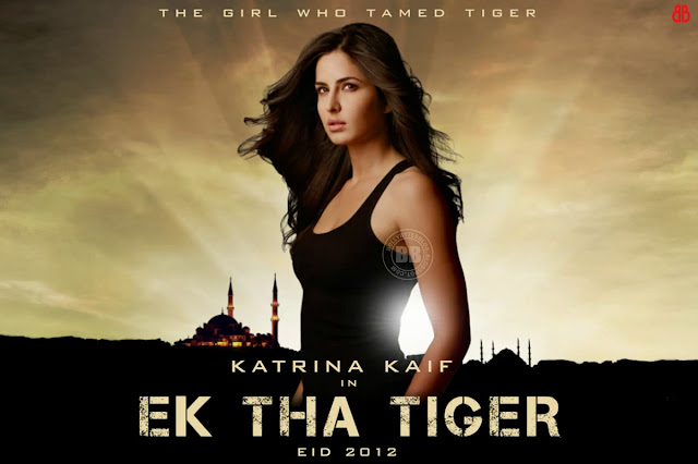 Katrina Kaif First Look HD Wallpaper from EK THA TIGER film