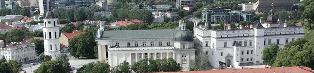 Vilnius, Vilna, Lituania, blog, Catedral, Castillo