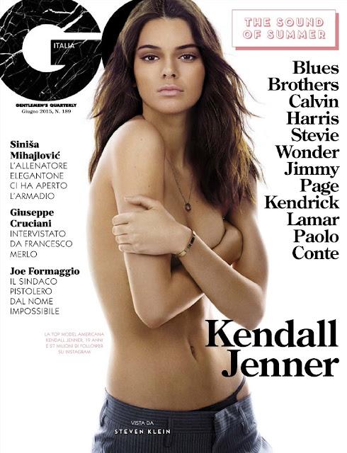 Kendall Jenner - GQ Italy, June 2015