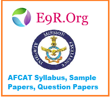 AFCAT Syllabus, Sample Papers, Question Papers