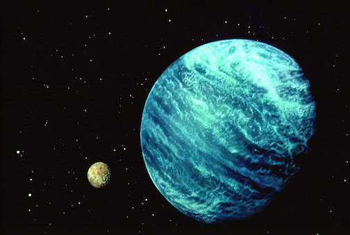 and its moon planet neptune - photo #20
