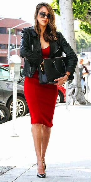 แฟชั่นผู้หญิง การแต่งตัวผู้หญิงเก๋ๆ แฟชั่นไอคอน Jessica Alba